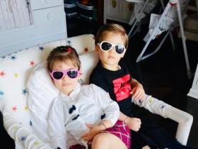 Karan Johar\'s twins Yash and Roohi\'s THESE adorable pictures will melt your heart; Check it out