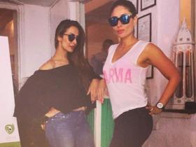 When Kareena Kapoor Khan cheated on her diet & stepped out in style with her friends & family; Check PHOTOS