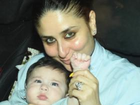 Kareena Kapoor Khan and Taimur Ali Khan\'s most adorable moments captured; Check it out