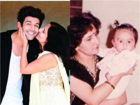 Kartik Aaryan: Love Aaj Kal actor is out and out a mumma\'s boy; Check out THESE photos