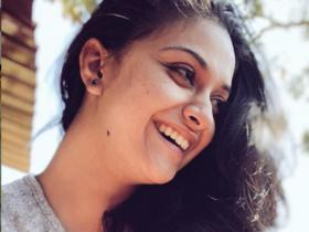 Keerthy Suresh\'s no makeup pictures will make it hard for you to take your eyes off her