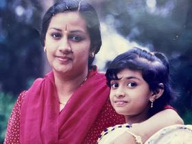 Keerthy Suresh\'s adorable childhood PHOTOS prove the National Award winner was born to be a star