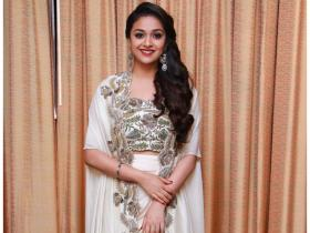 Keerthy Suresh\'s obsession for white knows no bounds; Check out her stunning PHOTOS
