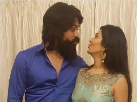KGF star Yash and Radhika Pandit\'s romantic photos are proof of their unconditional love for one another