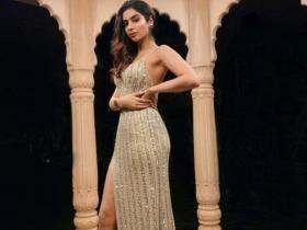 PHOTOS: Khushi Kapoor gives major fashion goals as she dons sequinned outfits
