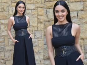 PHOTOS: Kiara Advani is a vision in black as she steps out for promotions of Guilty