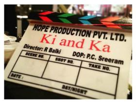 'Ki & Ka' shoot begins with Kareena Kapoor Khan and Arjun Kapoor