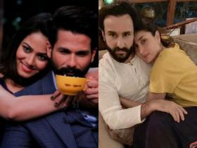 Koffee with Karan: Shahid Kapoor & Mira Rajput to Kareena Kapoor & Saif Ali Khan, couples who graced the show