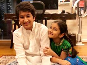 Mahesh Babu\'s children Gautam & Sitara\'s priceless moments in these photos deserve all your attention