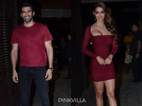 Malang co stars Aditya Roy Kapur & Disha Patani show us how to twin as they reunite at film\'s success bash