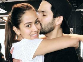 PHOTOS: Shahid Kapoor and Mira Rajput\'s gym looks will give you lessons on perfect athleisure
