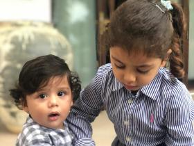 PHOTOS: Shahid Kapoor and Mira Rajput\'s kids Misha and Zain\'s cute moments will make your day brighter