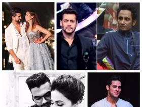 From Zubair Khan filing a FIR against Salman Khan to Sargun Mehta and Ravi Dubey\'s adorable pictures, here are the top 10 TV newsmakers of the week