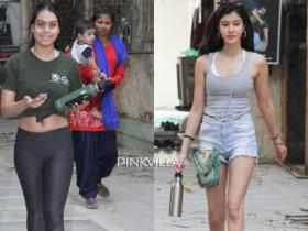 Nysa Devgn and Shanaya Kapoor look uber cool in casuals as they get papped post dance session