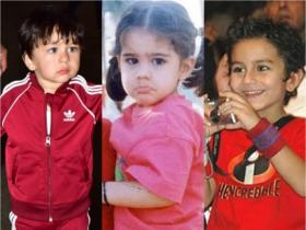 Taimur Ali Khan, Sara Ali Khan and Ibrahim Ali Khan\'s THESE throwback pics show how similar the siblings look