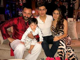 Sara, Taimur and Ibrahim Ali Khan look incredibly adorable in THESE pictures; Check it out