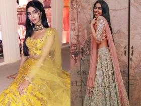 PHOTOS: Khushi Kapoor\'s BEST lehenga looks we would love to steal; Check it out
