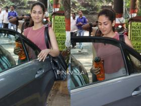 PHOTOS: Mira Rajput rocks her no makeup look as she heads for workout sans husband Shahid Kapoor