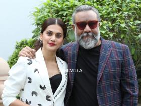 PHOTOS: Taapsee Pannu makes heads turn in a classic white outfit while promoting Thappad with Anubhav Sinha