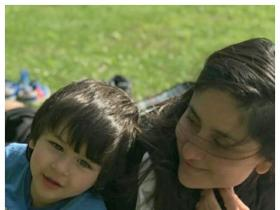 PHOTOS: Taimur Ali Khan is a mumma\'s boy and here\'s PROOF; Check it out