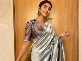 Pooja Hegde\'s envious saree collection from ivory to silk will make your jaws drop; Check PHOTOS