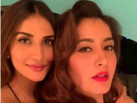 South star Raashi Khanna & Bollywood beauty Vaani Kapoor share an amazing bond with each other; See Pics