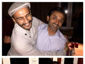 Ranveer Singh's EPL dinner party with friends