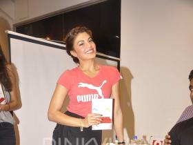 Jacqueline Fernandez clicked at a book launch!