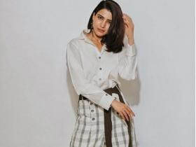 Samantha Akkineni donned experimental pants and surprised us with her sense of style; Check Photos
