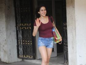 PHOTOS: 10 Times Sara Ali Khan flaunted her natural skin; Check it out