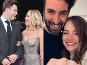 Scarlett Johansson & Colin Jost to Emma Stone & Dave McCary, celebrity couples who got engaged in 2019