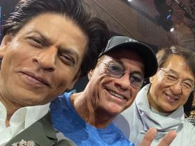 Shah Rukh Khan\'s pictures with THESE Hollywood biggies are unmissable; Check it out