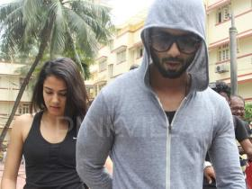 How Cute! Wifey Mira is Shahid's new gym partner