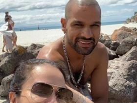PHOTOS: Indian opener Shikhar Dhawan\'s blueprint of a happy family will leave you speechless; Check it out