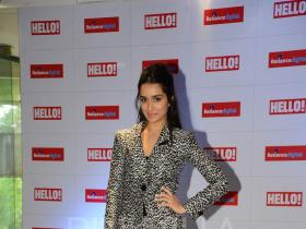 Shraddha Kapoor makes a stylish entry at Hello cover launch