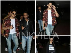 Aiyaary: Sidharth Malhotra, Rakul Preet and Manoj Bajpayee are at their fashionable best at the airport