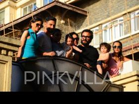 Taimur Ali Khan and Inaaya Naumi Kemmu have a perfect day out with the family