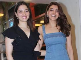 Tamannaah Bhatia and Kajal Aggarwal: The South beauties give major friendship goals; Check out photos