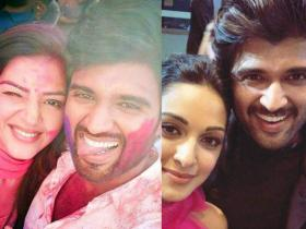 Vijay Deverakonda: World Famous Lover\'s THESE photos with other celebs reveals his fun side