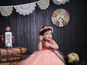 This picture of MS Dhoni\'s daughter Ziva dressed as a princess is priceless!