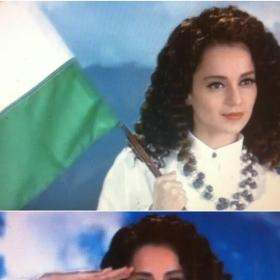 Video,Kangana Ranaut,independence day,Love Your Country