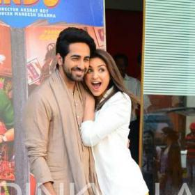 Photos,parineeti chopra,Ayushmann Khurrana,meri pyaari bindu