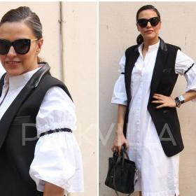 Celebrity Style,neha dhupia,Céline,Rag and Bone,Moh Maya Money,331 Street