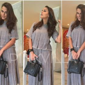 Celebrity Style,neha dhupia,Dior,Céline,Urvashi Kaur,Marks and Spencer,And other Stories