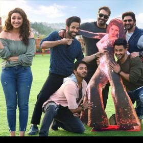 Photos,Ajay Devgn,parineeti chopra,meri pyaari bindu,Golmaal Again