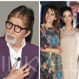 Photos,Amitabh Bachchan,Tapsee Pannu,Pink promotions