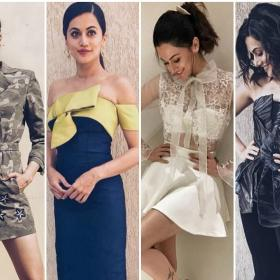 Celebrity Style,Taapsee Pannu,Dil Junglee