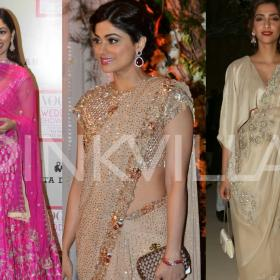 Celebrity Style,Lehenga,Wedding Season