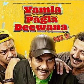 bobby Deol,sunny deol,dharmendra,Reviews,Yamla Pagla Deewana Phir Se Movie Review