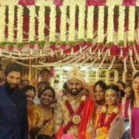 Allu Arjun,Sneha Reddy,South